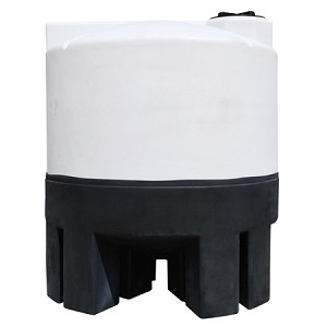 1050 Gallon Cone Bottom Tank with Stand